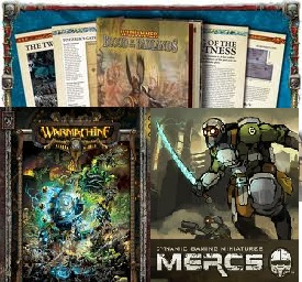 D6G Ep 94: 2011 Best Moments & Mini Mini Reviews: Warmachine Wrath, Warhammer Badlands, & Mercs