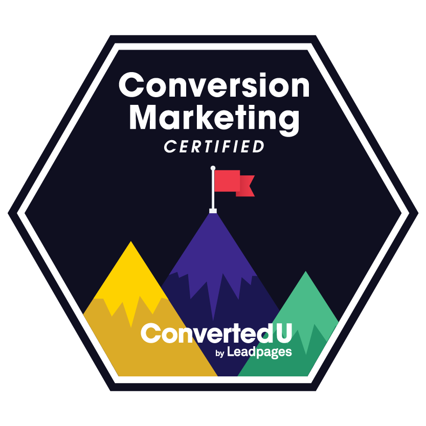 Conversion Marketing Certified Badge
