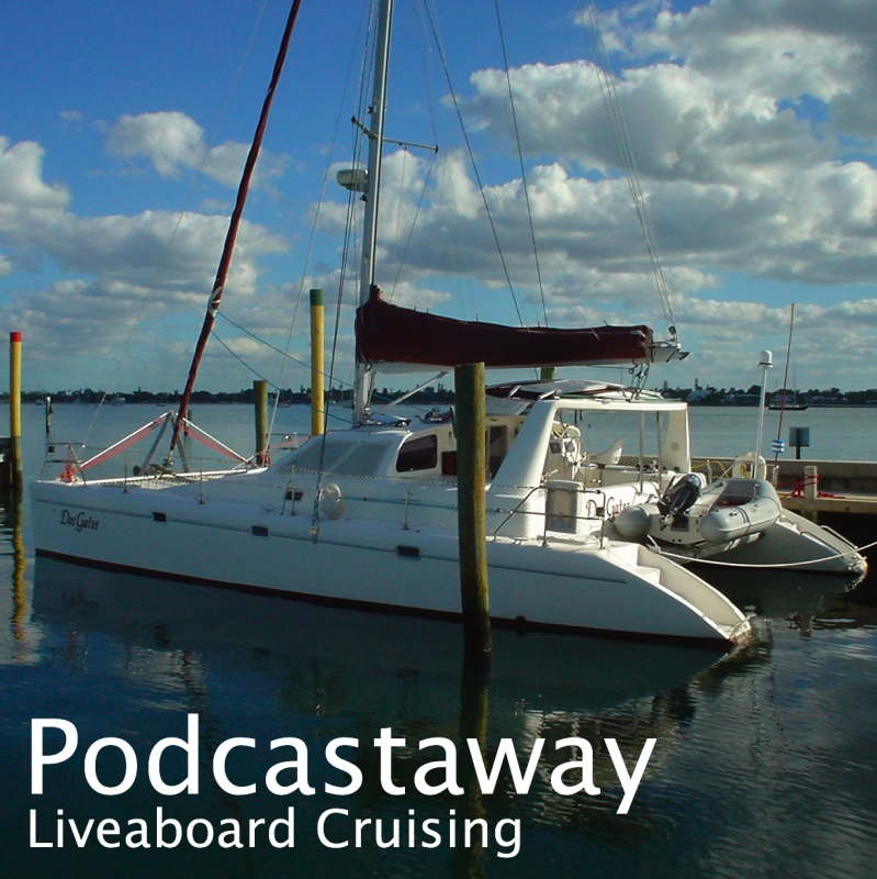 PodCastaway: Liveaboard Cruising show art