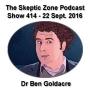 Artwork for The Skeptic Zone #414 - 22.September.2016