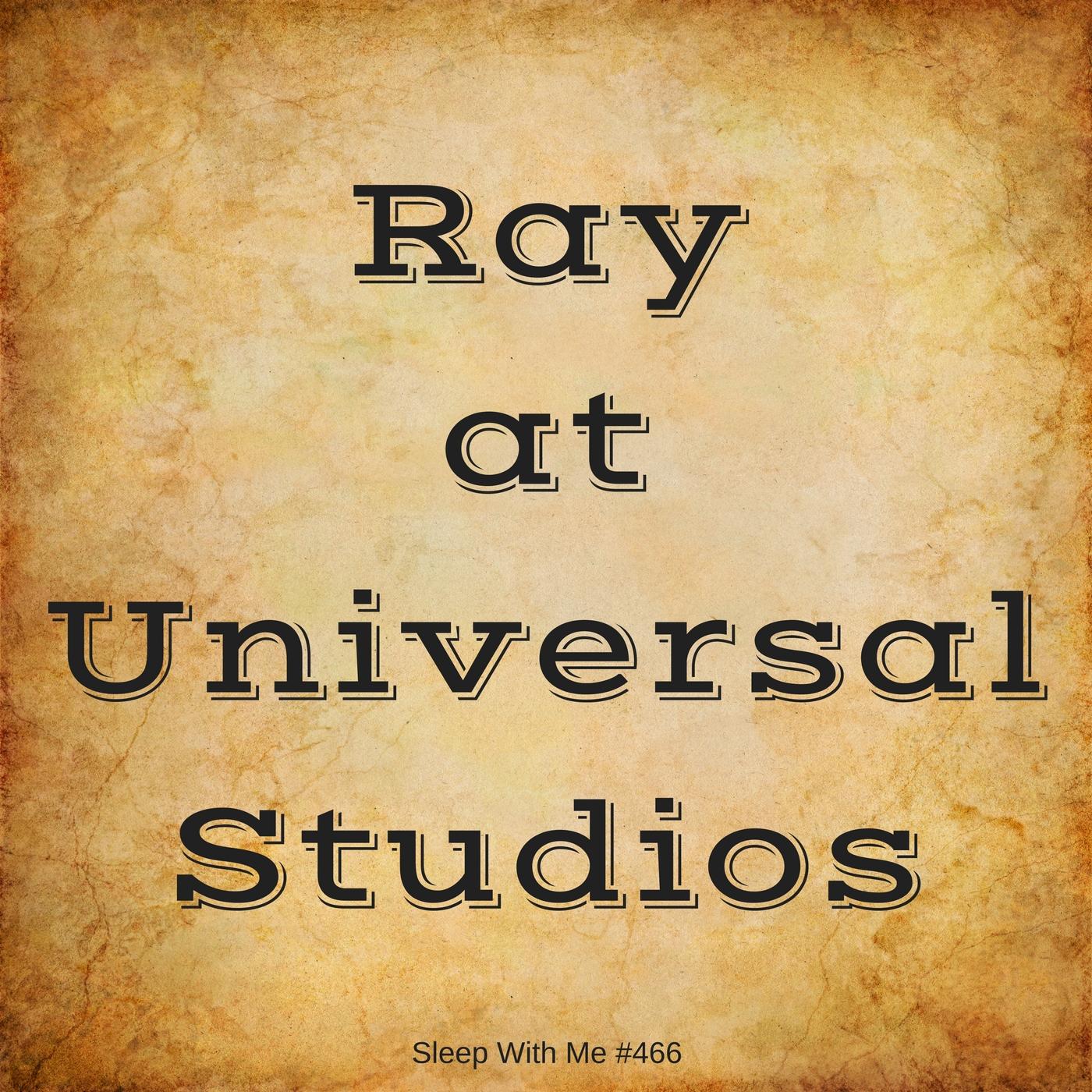 Universal Studios with Ray | Sleep With Me #466