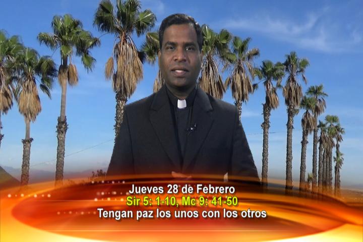 """Artwork for Dios te Habla con Fr. Deeber Yonas, SVD; 'Tengan paz los unos con los otros""""."""