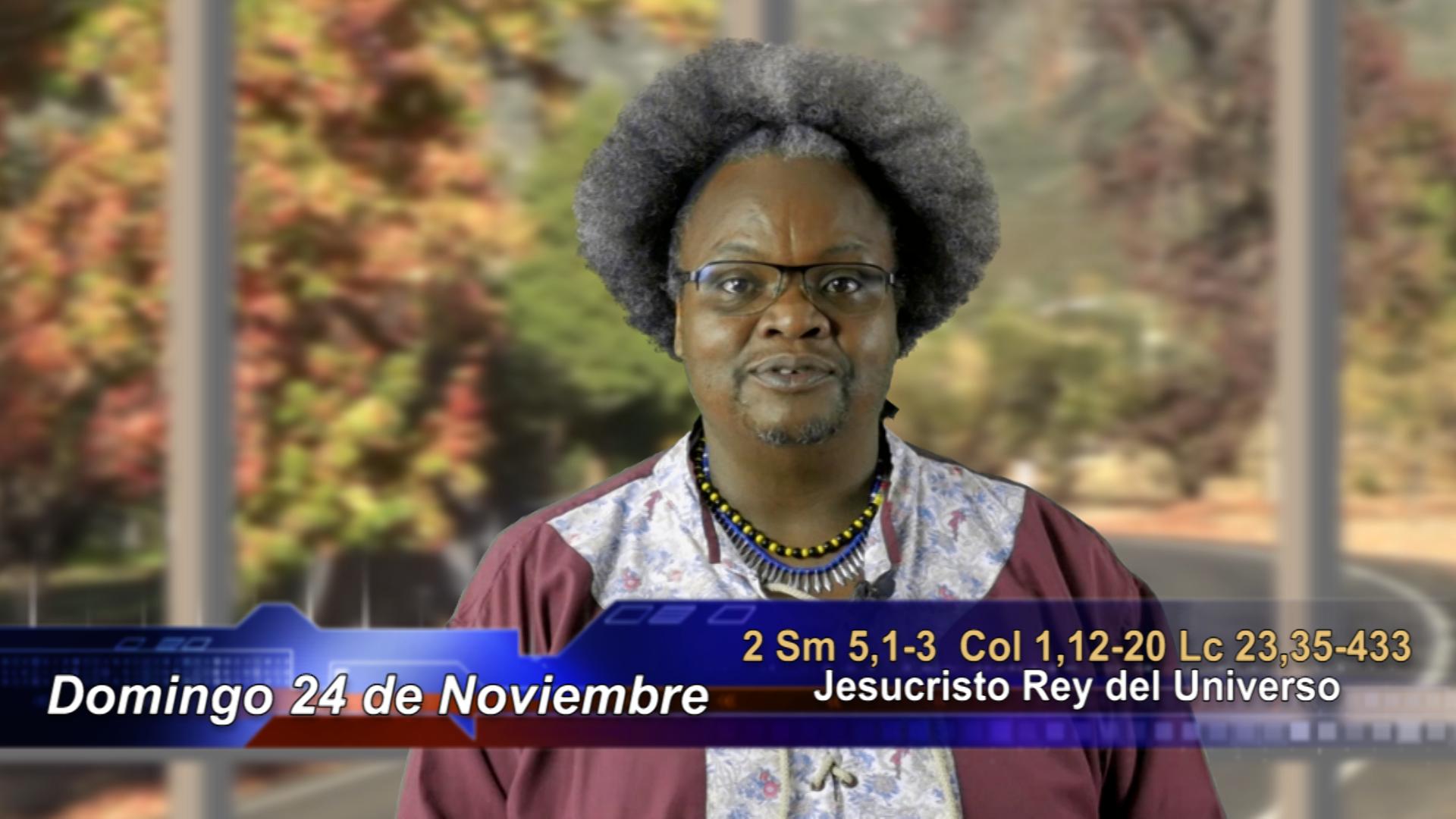 Artwork for Dios te Habla con  Emigdio Cuesta Pino, SVD  Tema el hoy: Jesucristo Rey del Universo