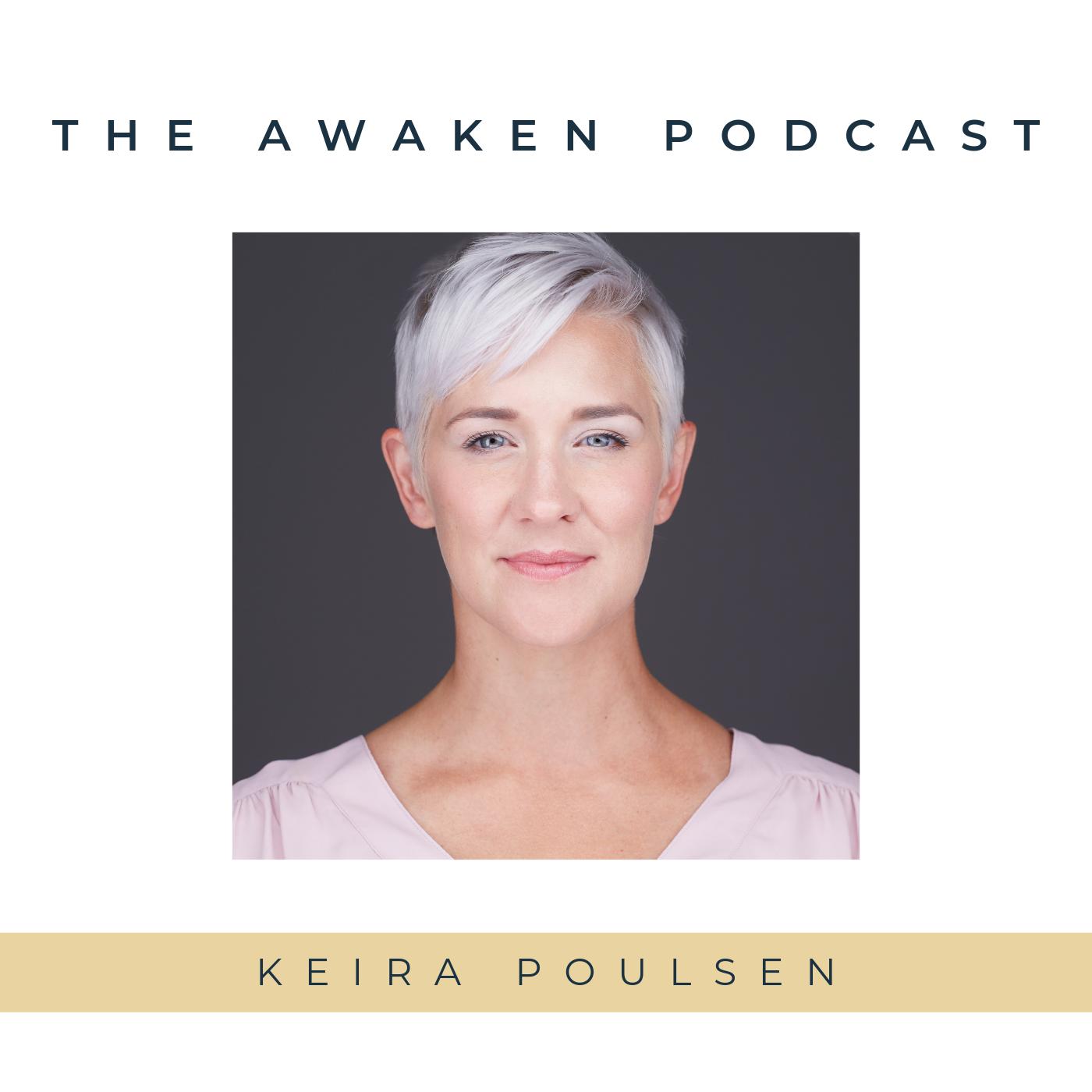 The Awaken Podcast show art