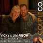 Artwork for Construction Couplepreneurs Go West and Go Big: Vicky & Jim Fitlow of Re-Bath UT & CO, Part 1