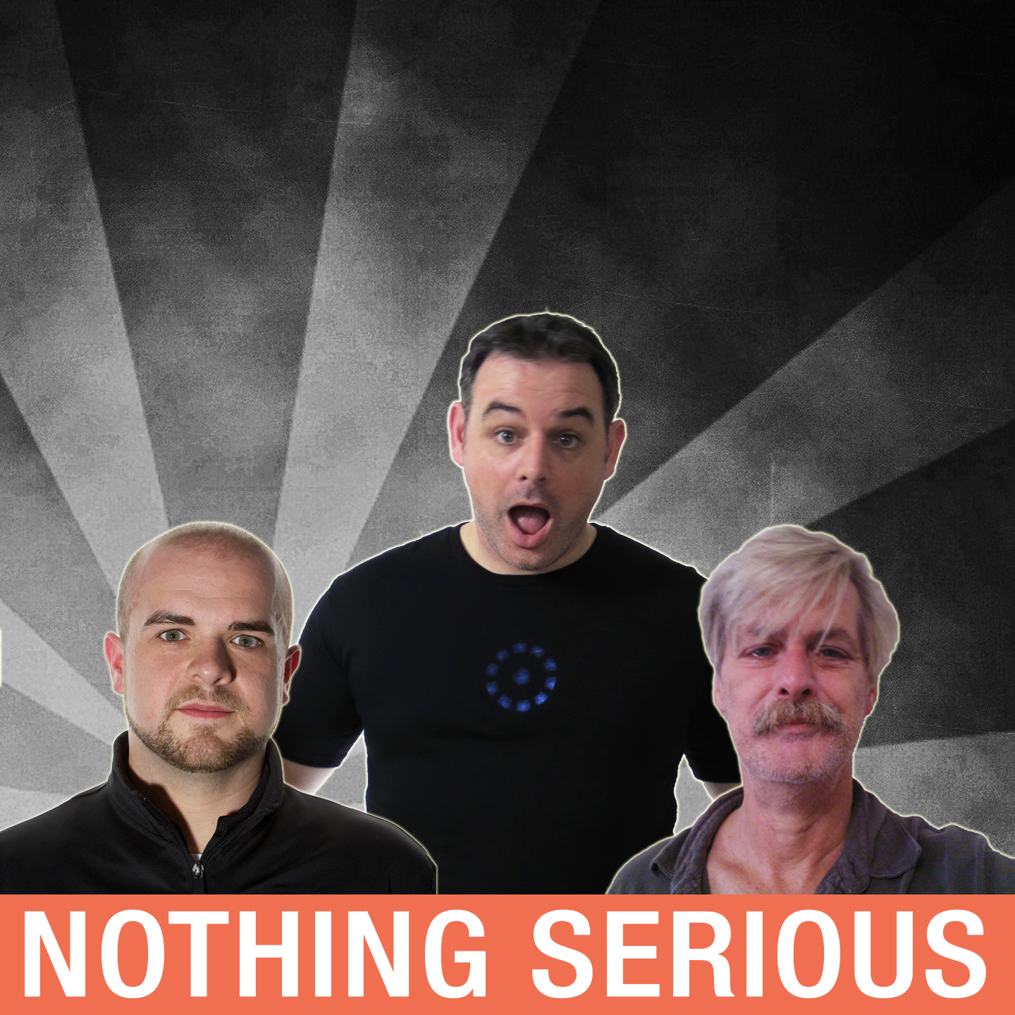 Nothing Serious Podcast logo