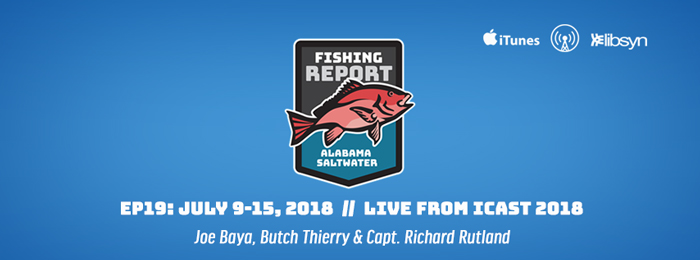Alabama Saltwater Fishing Report - Ep19 - ICAST - July 9-15, 2018