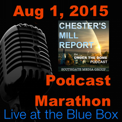 The Under the Dome Roundtable 8-1-15 Live at the Blue Box Podcast Marathon