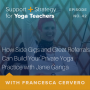 Artwork for 42: How Side Gigs and Great Referrals Can Build Your Private Yoga Practice with Janie Ganga