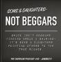 Artwork for Sons & daughters aren't beggars- #43