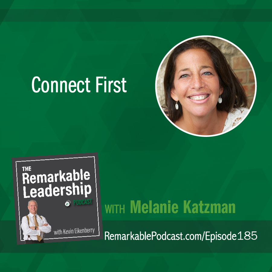 Connect First with Melanie Katzman show art