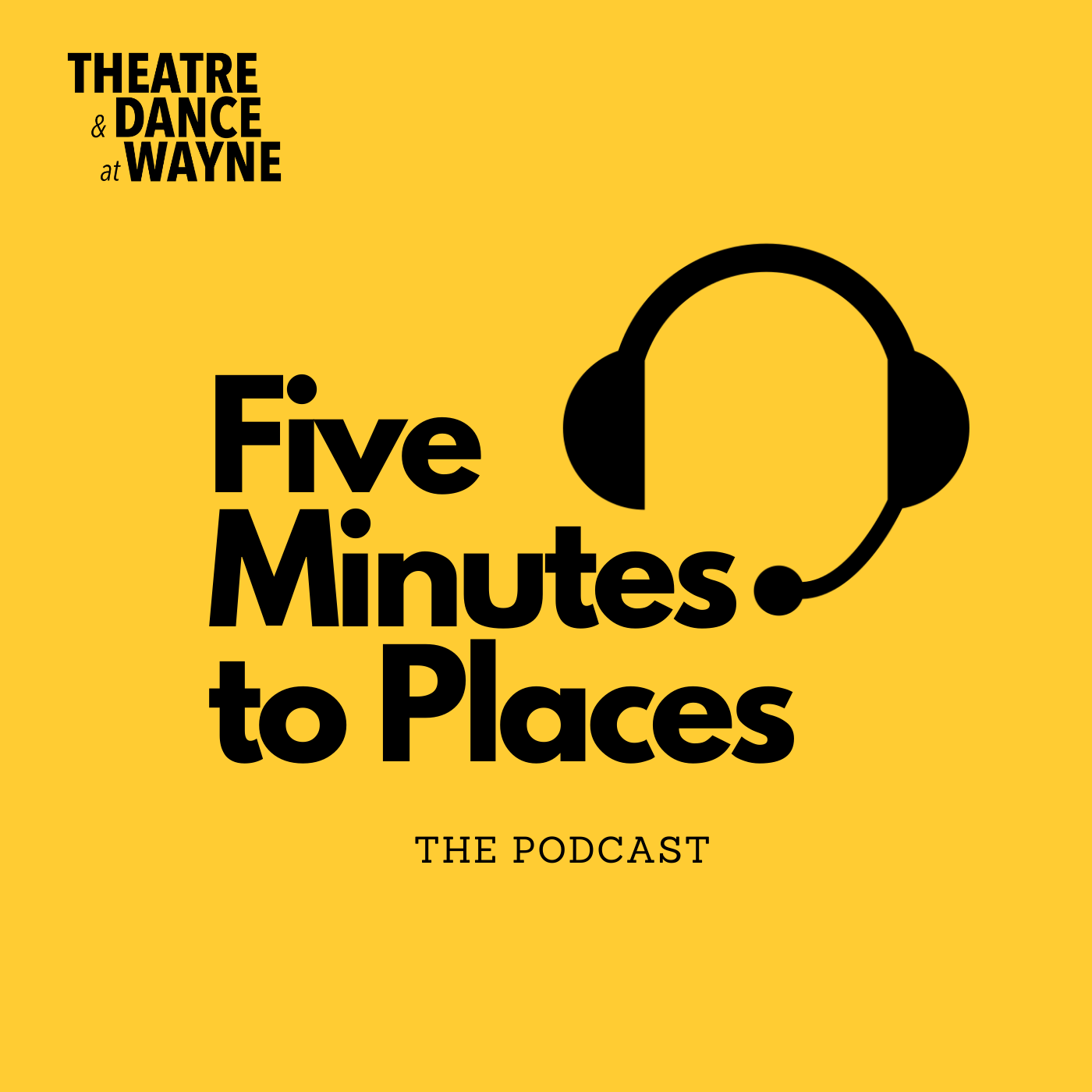 Five Minutes to Places | A Podcast on the Performing Arts show art