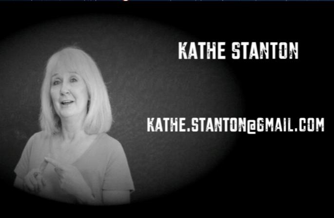 "Artwork for Kathe Stanton, PR PI: ""Uh-oh, Your Mic's On"""