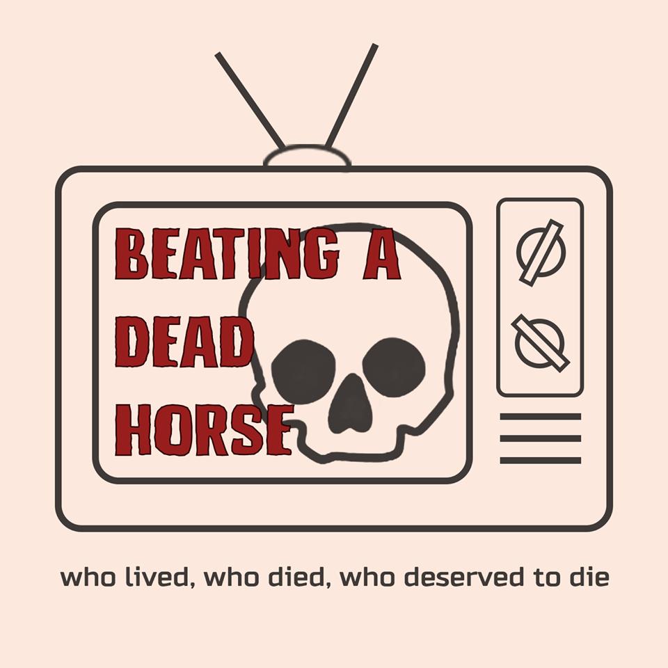 Beating a Dead Horse show art