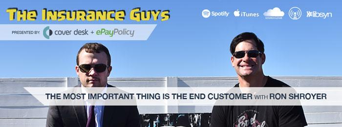 Ron Shroyer on Insurance Guys Podcast