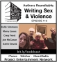 Artwork for The Liars Club Oddcast # 116 | Authors Roundtable: Writing Sex and Violence