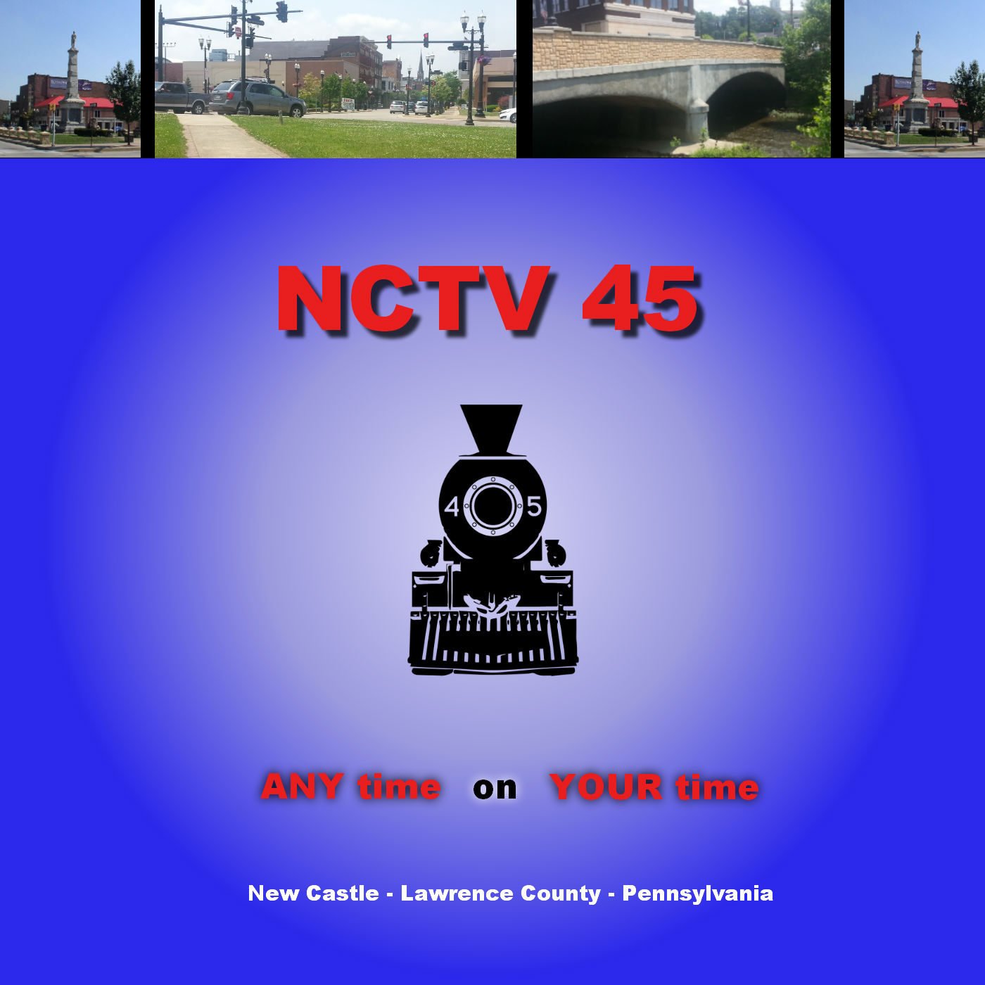 NCTV45 - The Train - New Castle, PA show art