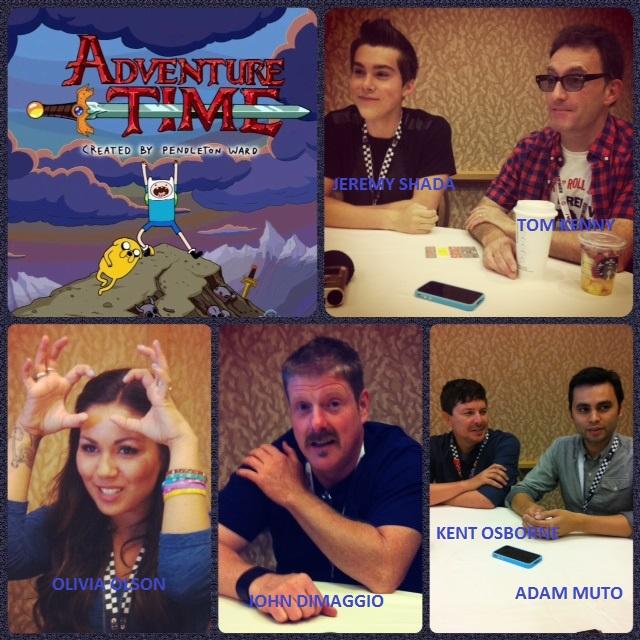 Episode 493 - SDCC: Adventure Time w/ John DiMaggio, Tom Kenny, Olivia Olson, Jeremy Shada, Adam Muto, Kent Osborne