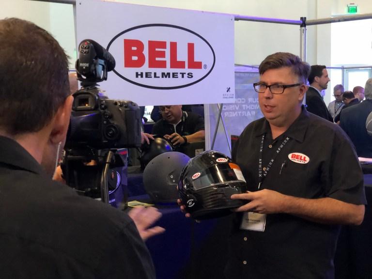 Bell Racing Helmet at AFWERX Helmet Challenge in Las Vegas on November 14, 2018.