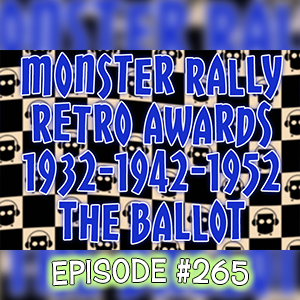 Monster Kid Radio #265 - The Ballot for the 2016 Monster Rally Retro Awards