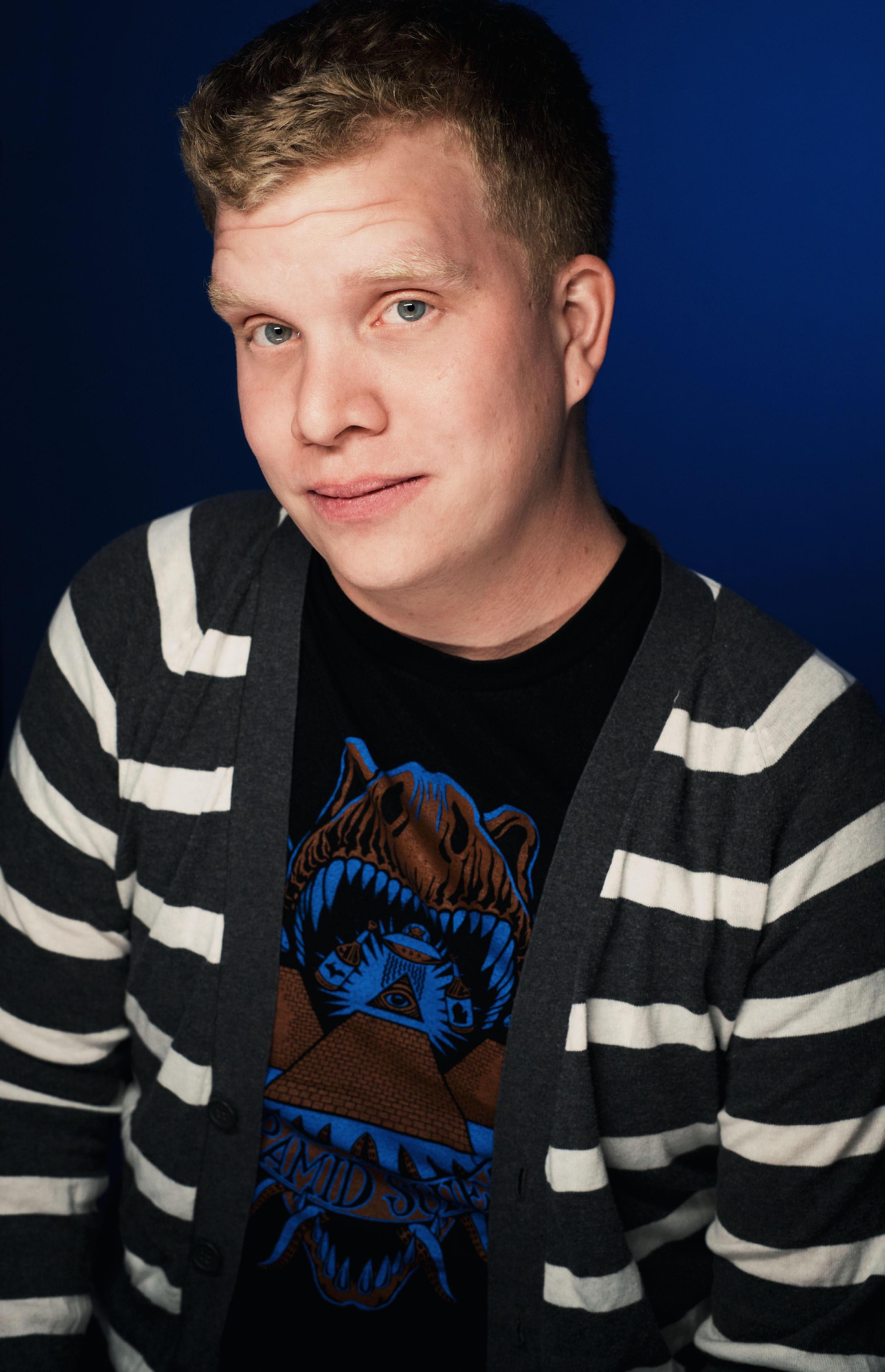 Stand-up comedian Josh Florhaug