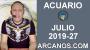 Artwork for HOROSCOPO ACUARIO - Semana 2019-27 Del 30 de junio al 6 de julio de 2019 - ARCANOS.COM
