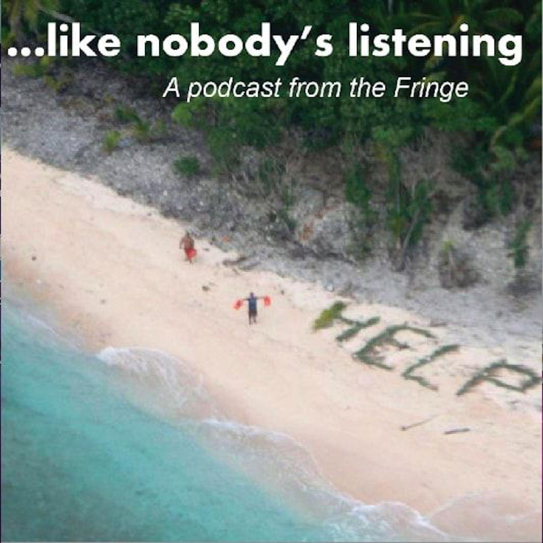 likenobodyslistening's podcast show art