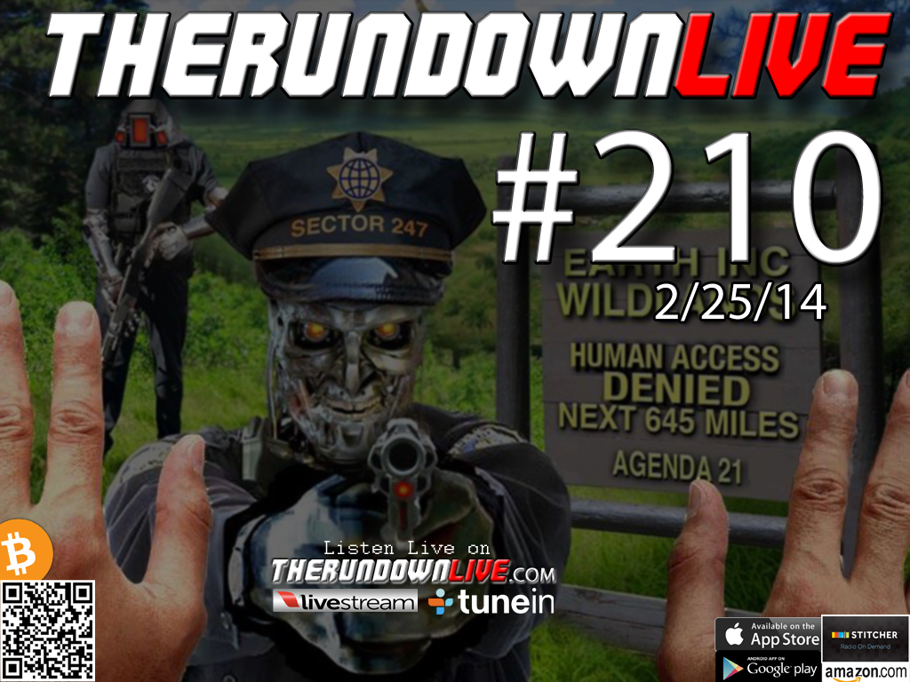 The Rundown Live #210 Open Lines (GMO Kids,Fluoride,Control)