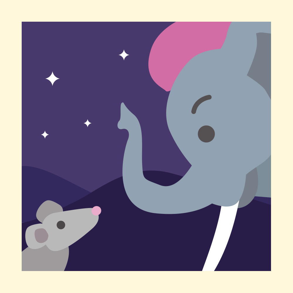 Learn How to Make Peace with this Indian Folktale - Storytelling Podcast for Kids - The Elephants' Reward E:102
