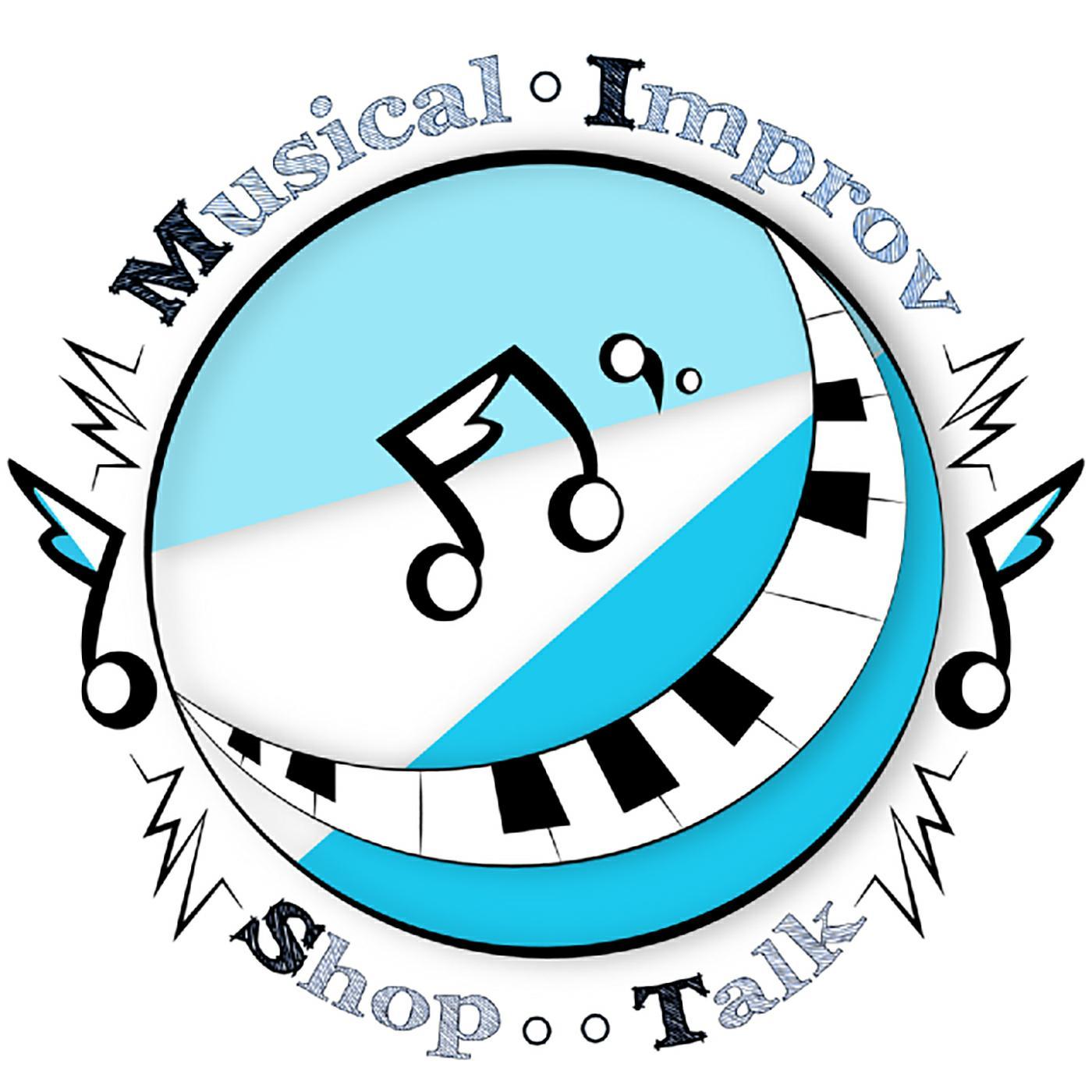Musical Improv Shop Talk Podcast show art