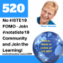 Artwork for No #ISTE19 Fomo - Join #NotAtIste19 and Start Learning