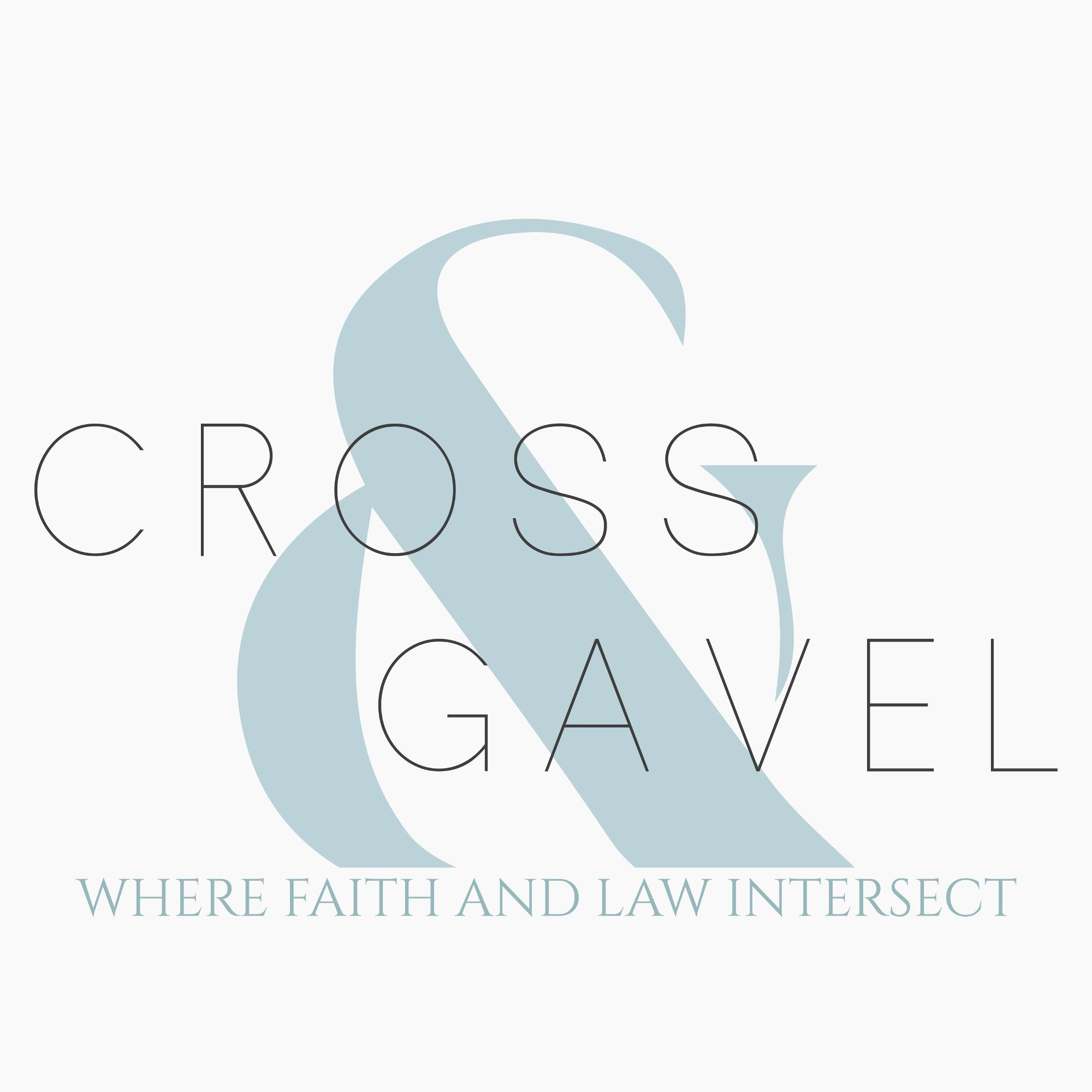 Cross & Gavel Audio show art