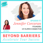 Artwork for Episode 17: Become A Super Connector On LinkedIn With Jennifer Corcoran