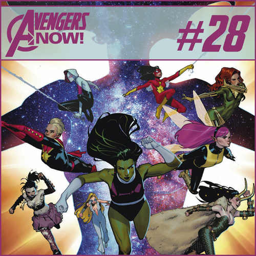 Cultural Wormhole Presents: Avengers Now! Episode 28