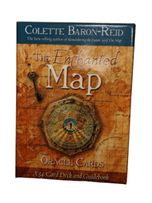 The Enchanted Map Oracle deck by Colette Baron-Reid