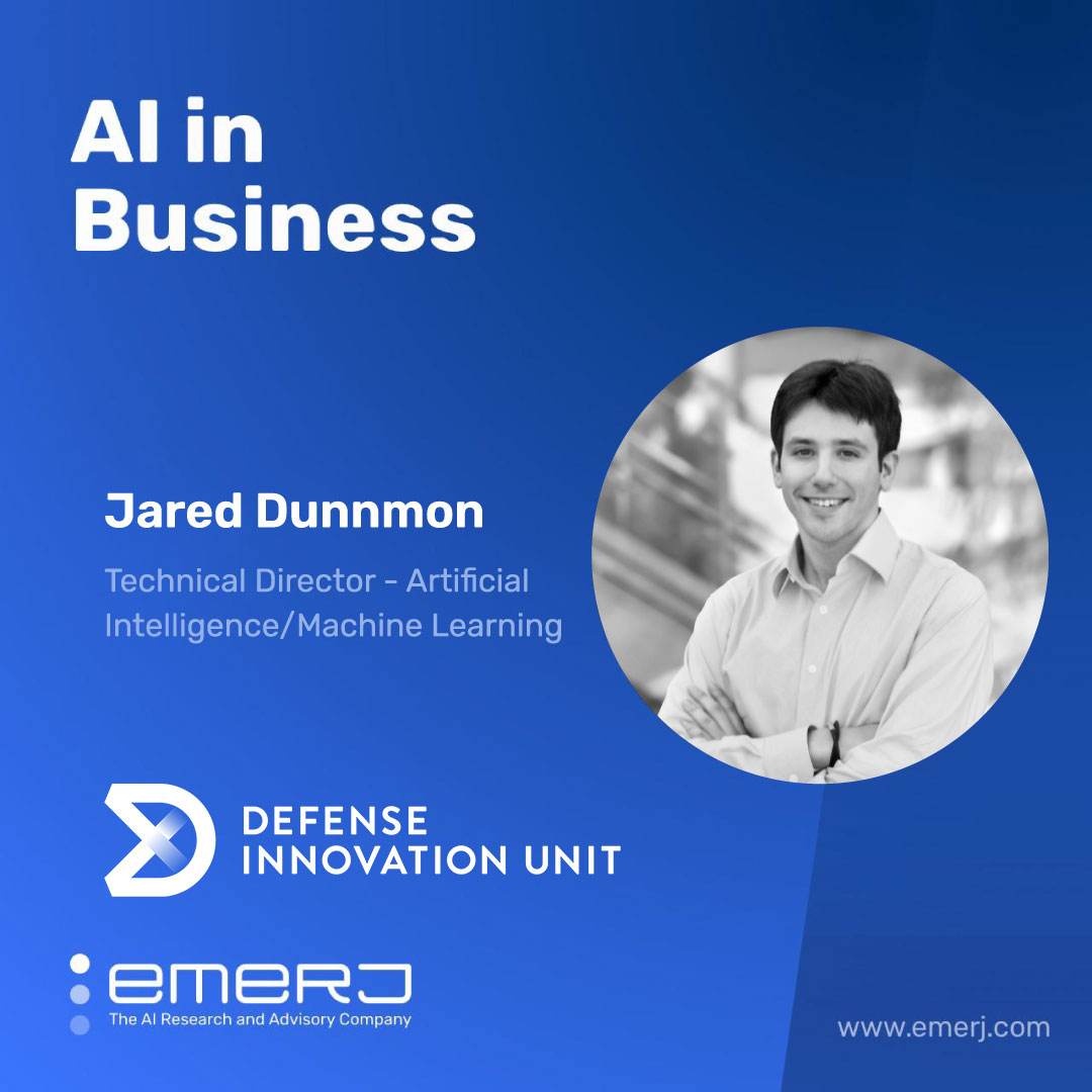 The Use-Cases of AI for Homeland Security - with Jared Dunnmon of the US DIU