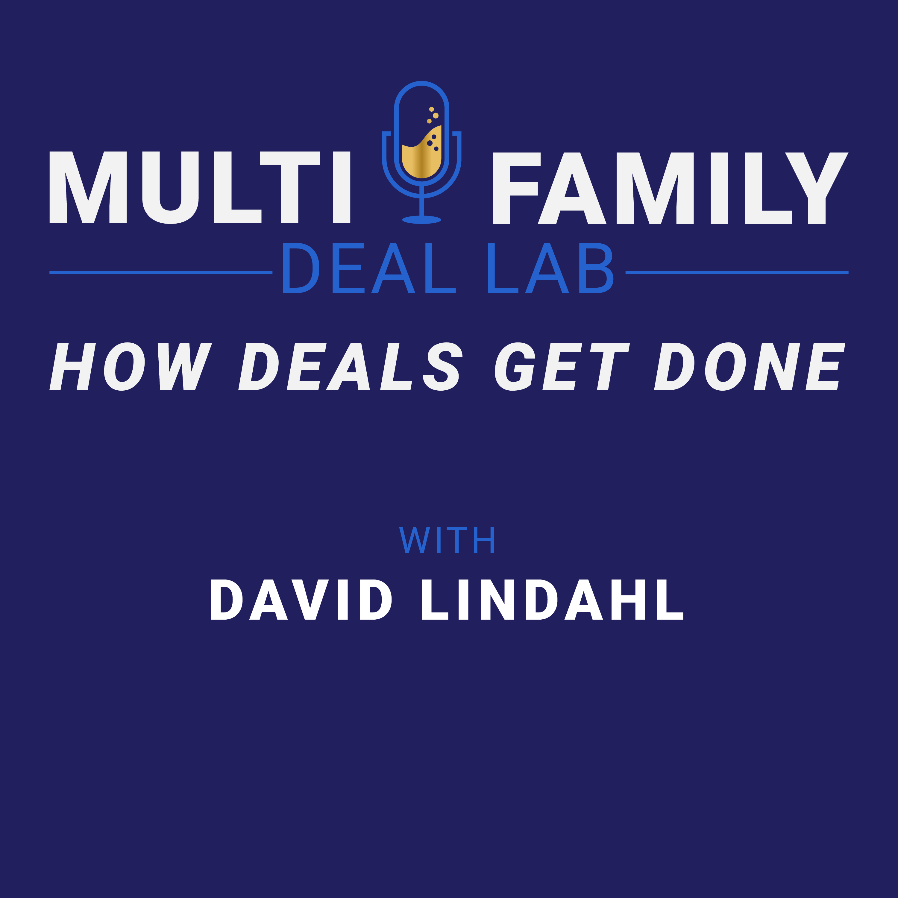 Multi-Family Deal Lab Podcast show art