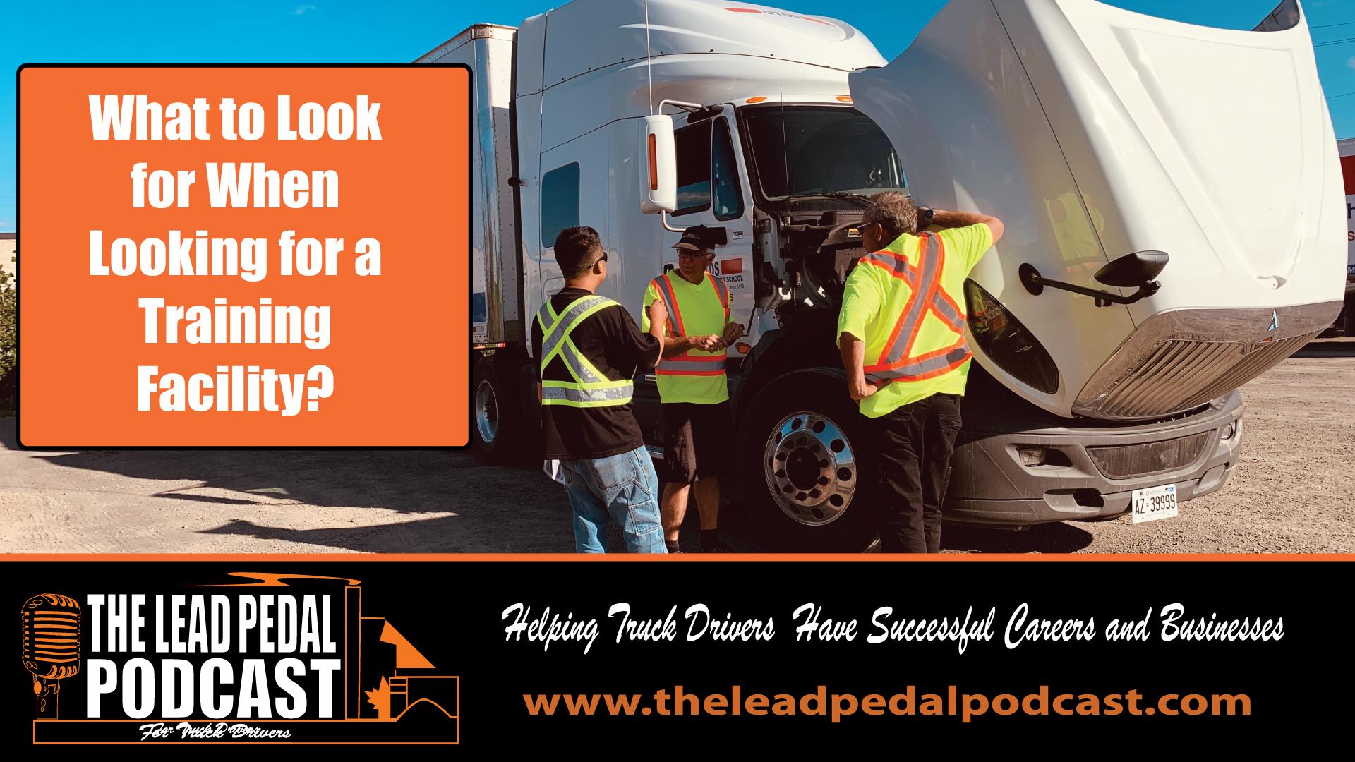 truck training schools
