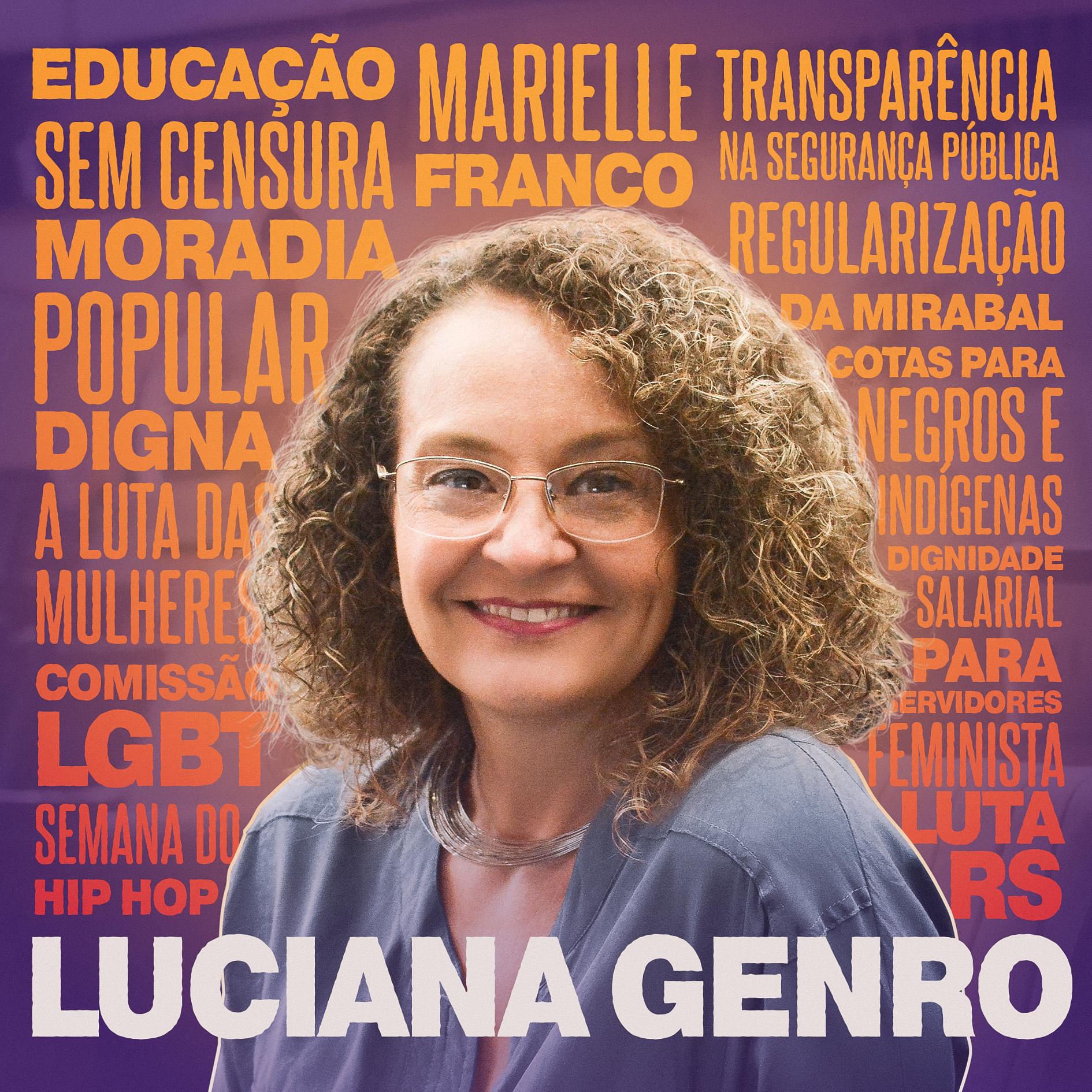 Luciana Genro Comenta show art
