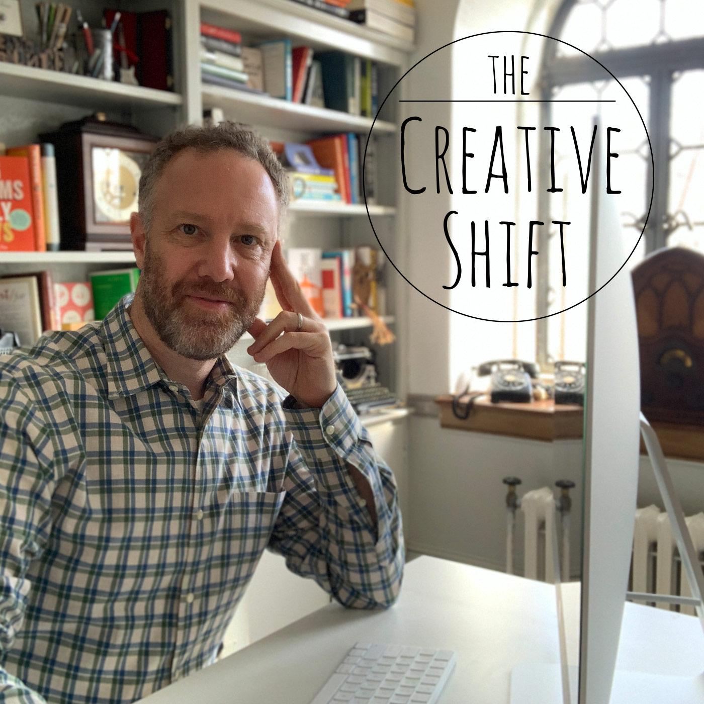 The Creative Shift with Dan Blank show art