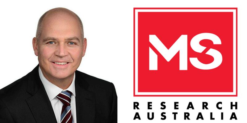 Matthew Miles and MS Research Australia