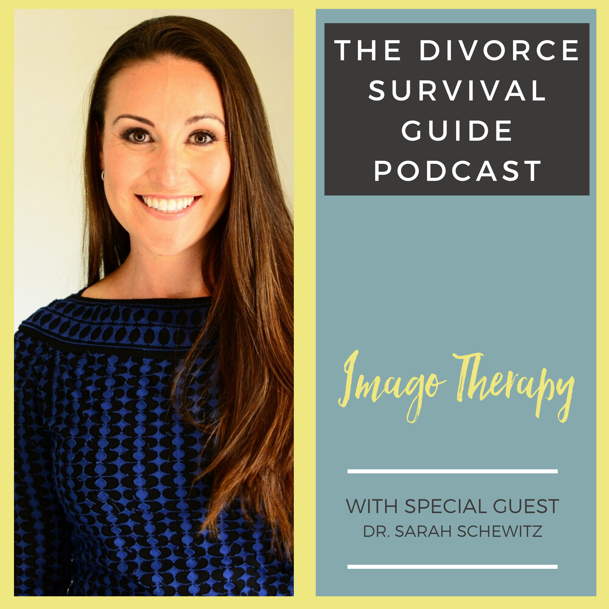 The Divorce Survival Guide Podcast - Imago Therapy with Dr. Sarah Schewitz