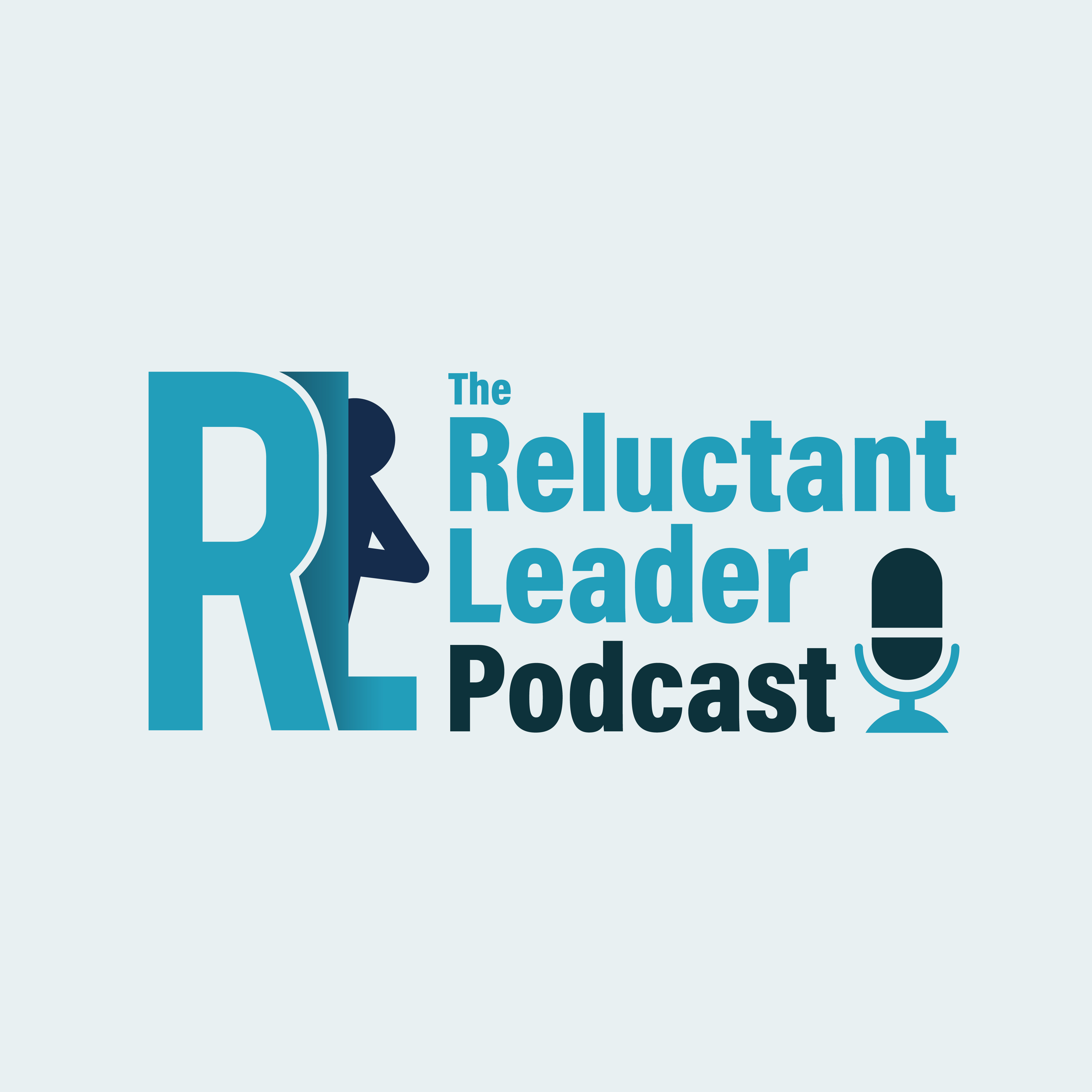 The Reluctant Leader Podcast show art