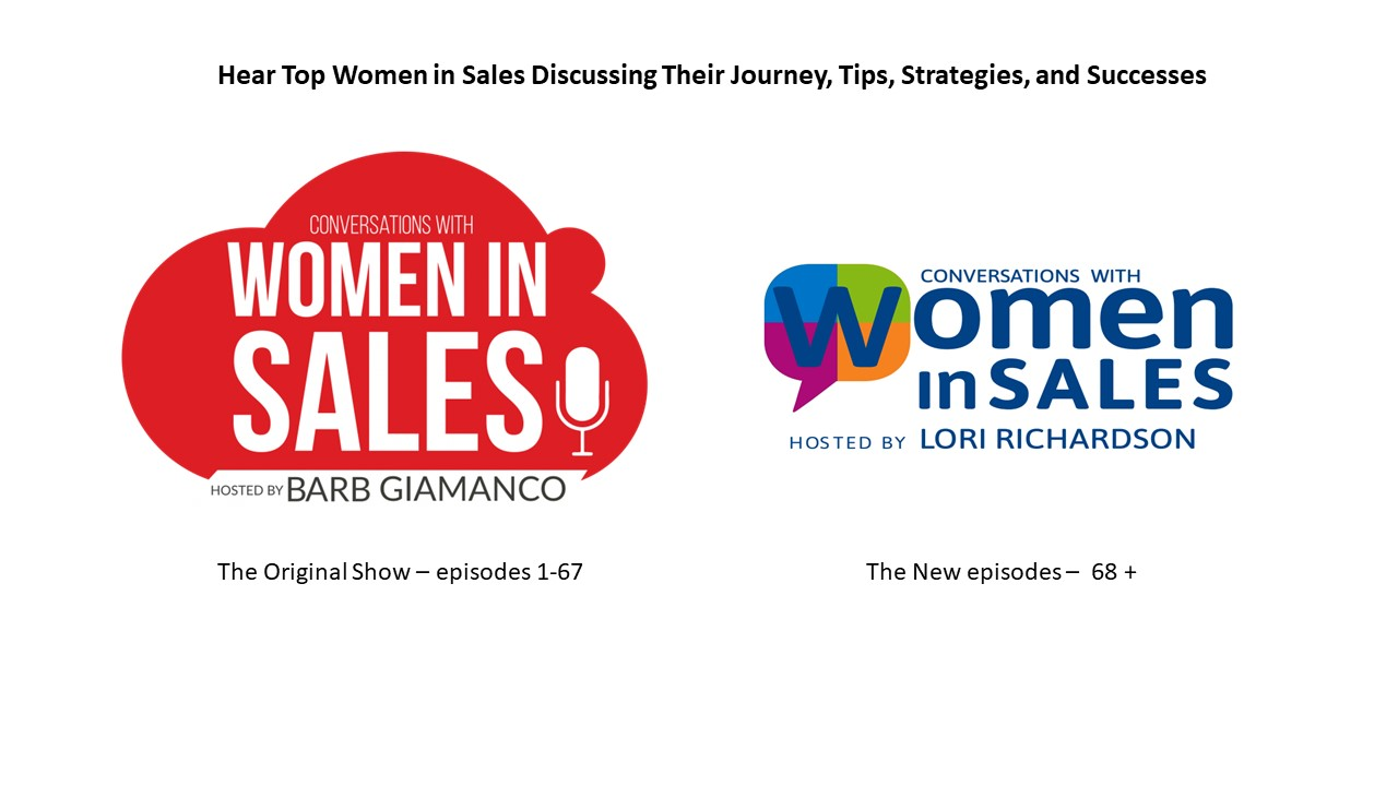 Conversations with Women in Sales show art