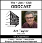 Artwork for The Liars Club Oddcast # 088 | Art Taylor, Award-Winning Mystery Writer