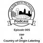 Artwork for 005 - TPP & Country of Origin Labeling