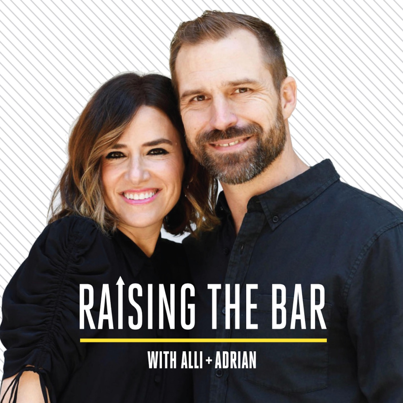 Raising the Bar with Alli and Adrian show art