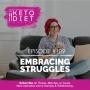 Artwork for #109 Embracing Struggles with Natasha Newton