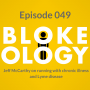 Artwork for Episode 049: Jeff McCarthy on running with Lyme disease and chronic illness