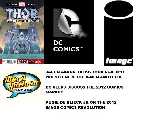 Jason Aaron pt 1 DC Veeps & Image Comics 2012 w Augie DeBlieck